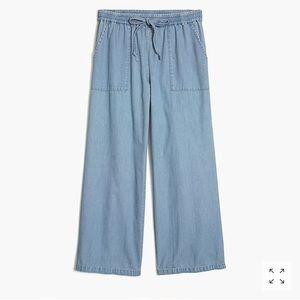J.Crew Factory Chambray Drawstring Pants